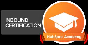 Certificación Inbound de Hubspot Academy